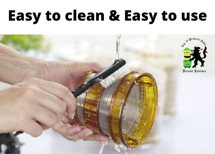 Easy to clean & Easy to use