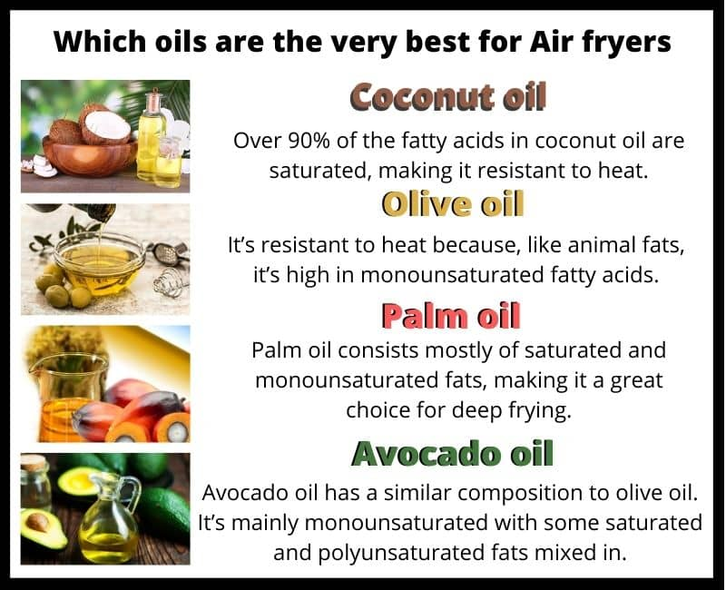 Which oils are the very best for Air fryers?