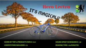 Hero Lectro Review: BEST ELECTRIC CYCLE?