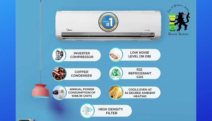 Midea AC Review Key Features