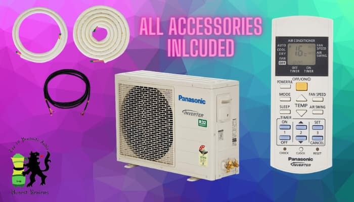 Panasonic AC Review Accessories