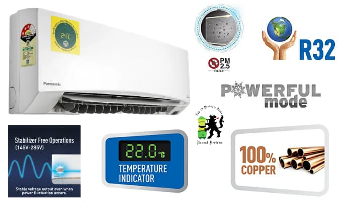 Panasonic AC Review Key Features