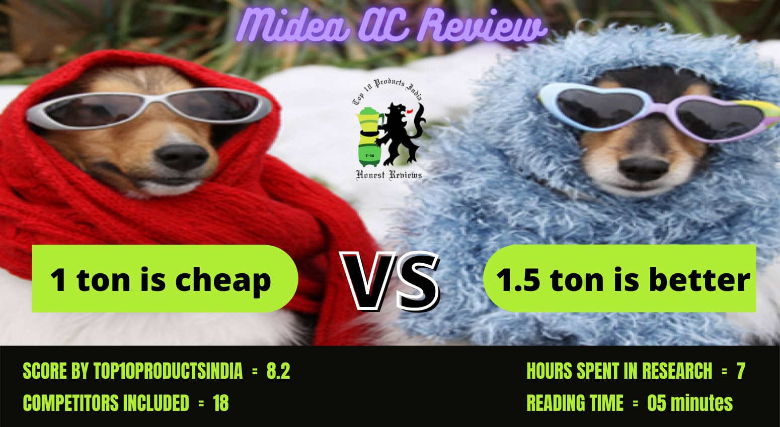 Midea AC Review – Which Model is Beneficial 1 or 1.5 Ton?