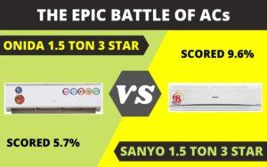 Onida Split AC 1.5 ton 3 Star Review: FAILED OUR TESTING