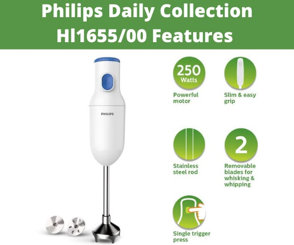 Philips Daily Collection Hl1655/00 Features