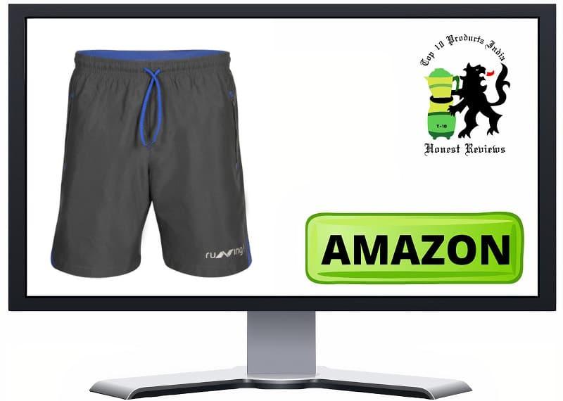 Nivia Running Urban Peach Shorts
