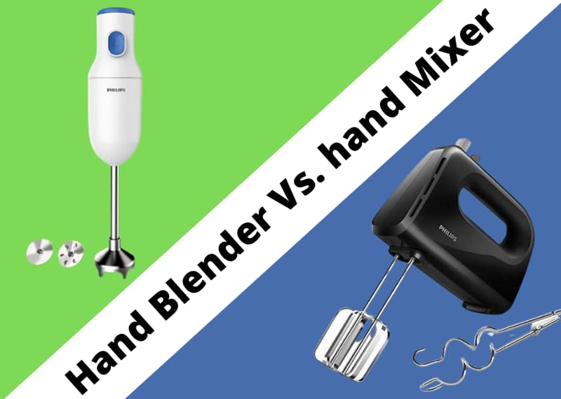 Why Choose Hand Blender Over Hand Mixer