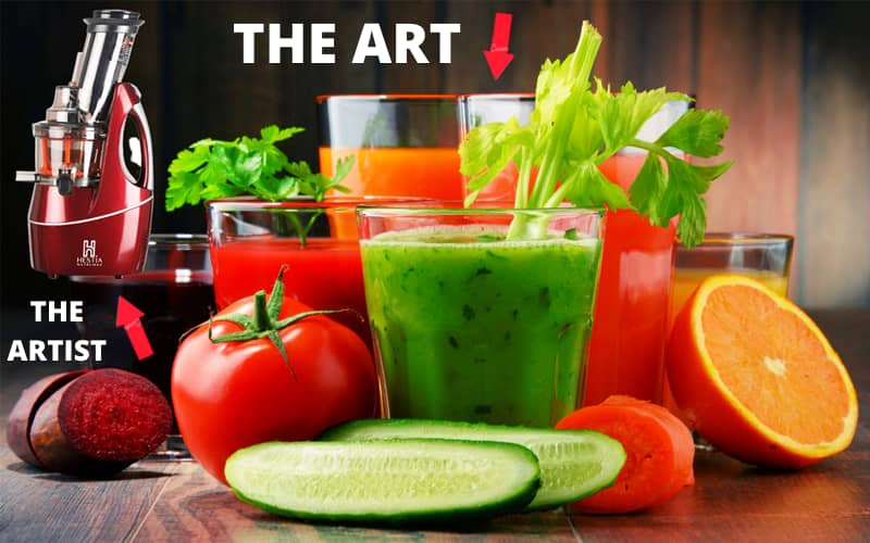 best features of Hestia Cold Press Juicer