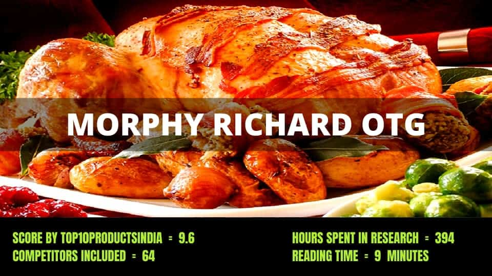 Morphy Richards OTG Review – Features, Buying Guide, and Brand Explained